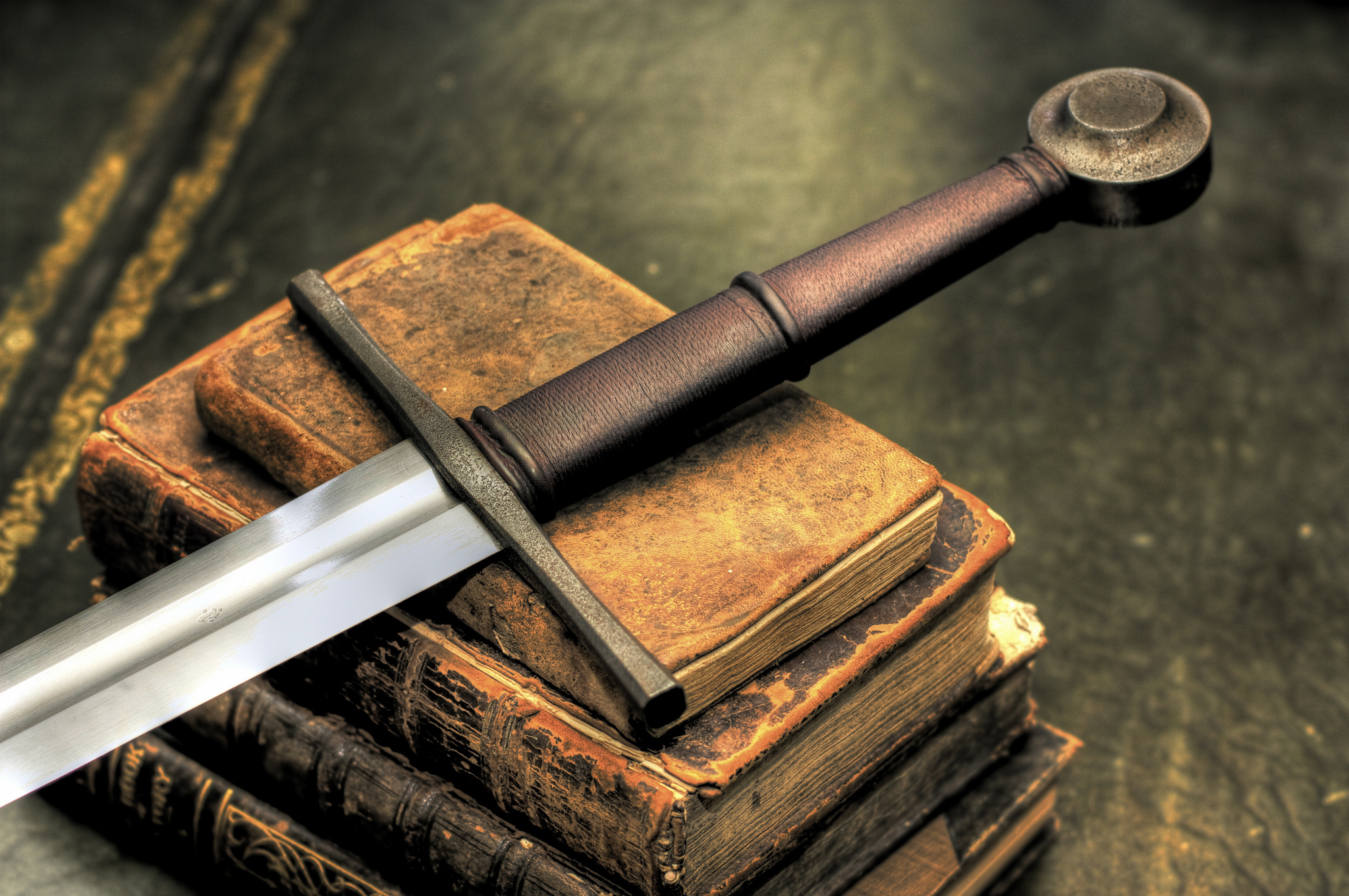 Sword and Books